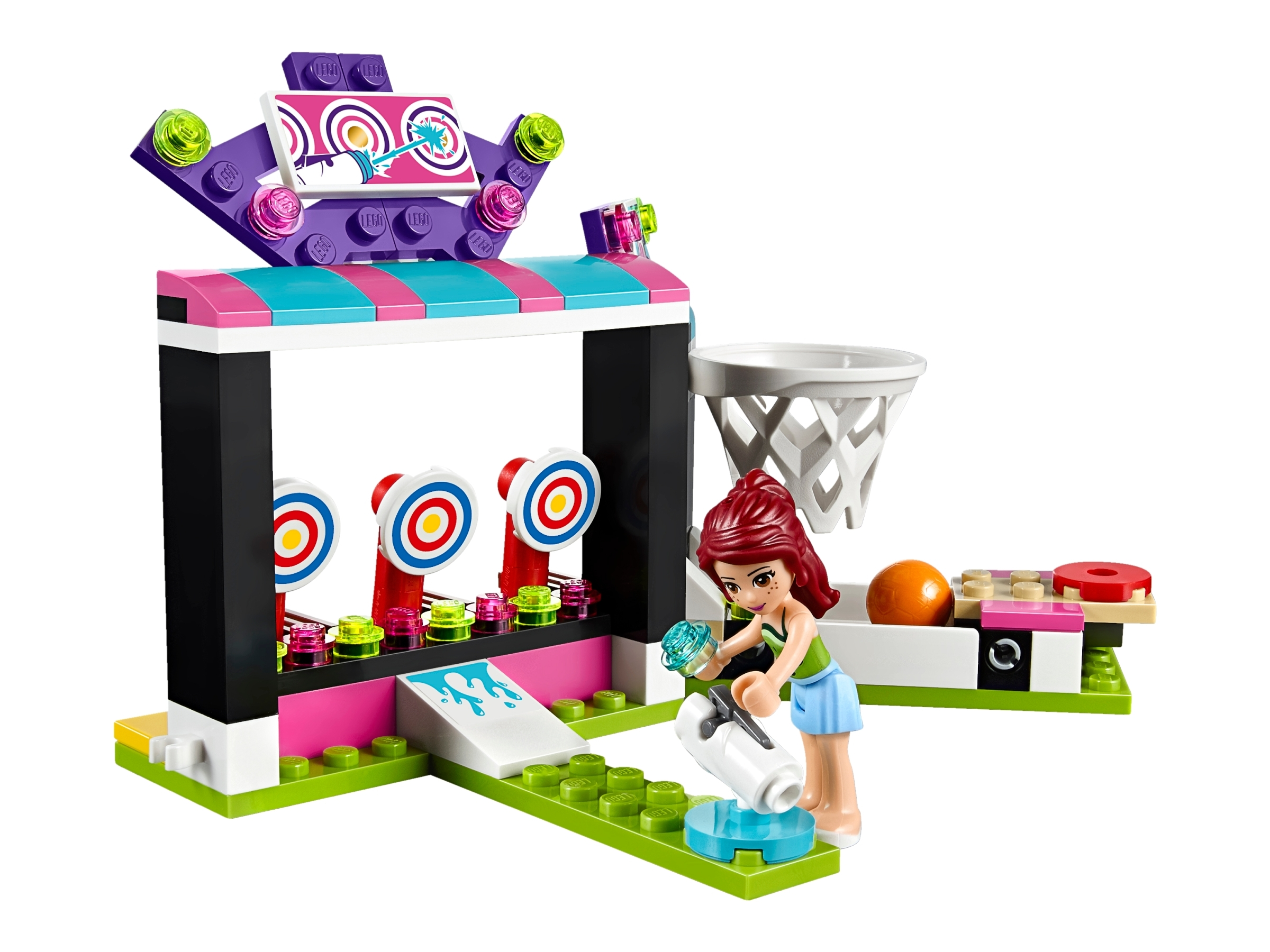 Lego Friends Amusement Park Arcade 41127 Damaged Box  Sticker Removal /& Creases