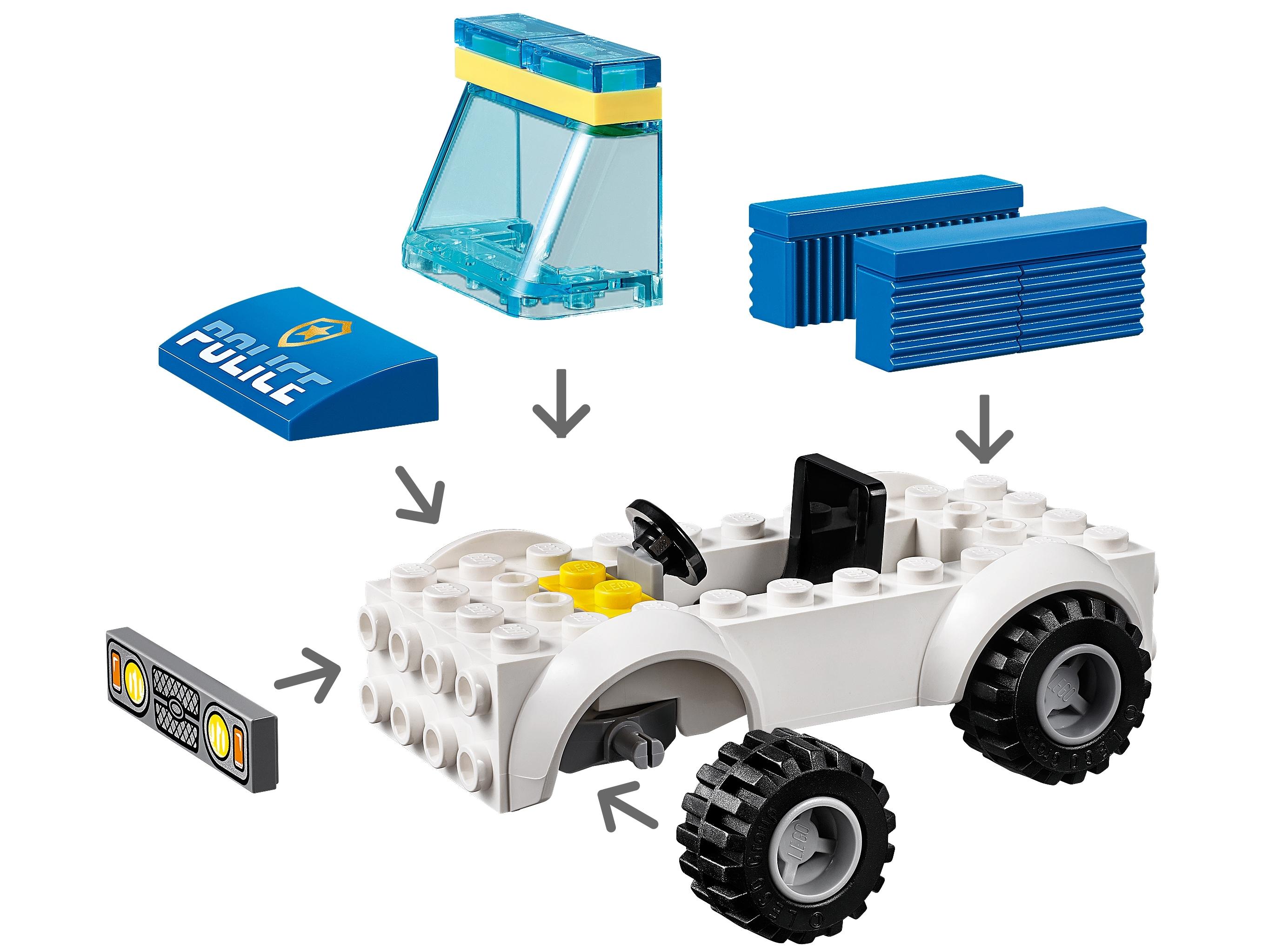LEGO City 60270 Police Station Brick /& 60241 Police Dog Unit