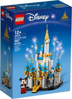 Miniaturowy zamek Disneya