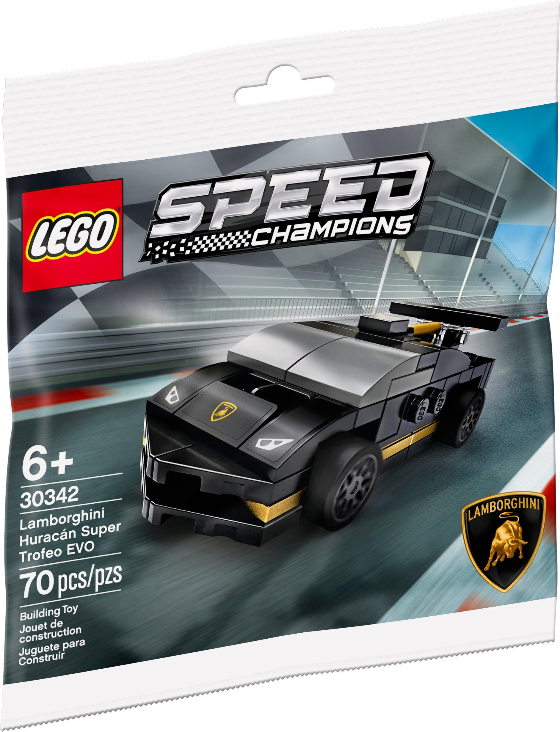 Lamborghini Huracan Super Trofeo EVO Polybag Lego® Speed Champions™ 30342