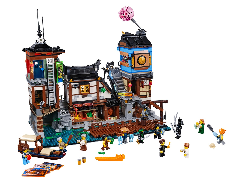 Ninjago City Docks 70657 Ninjago Buy Online At The Official Lego Shop Us