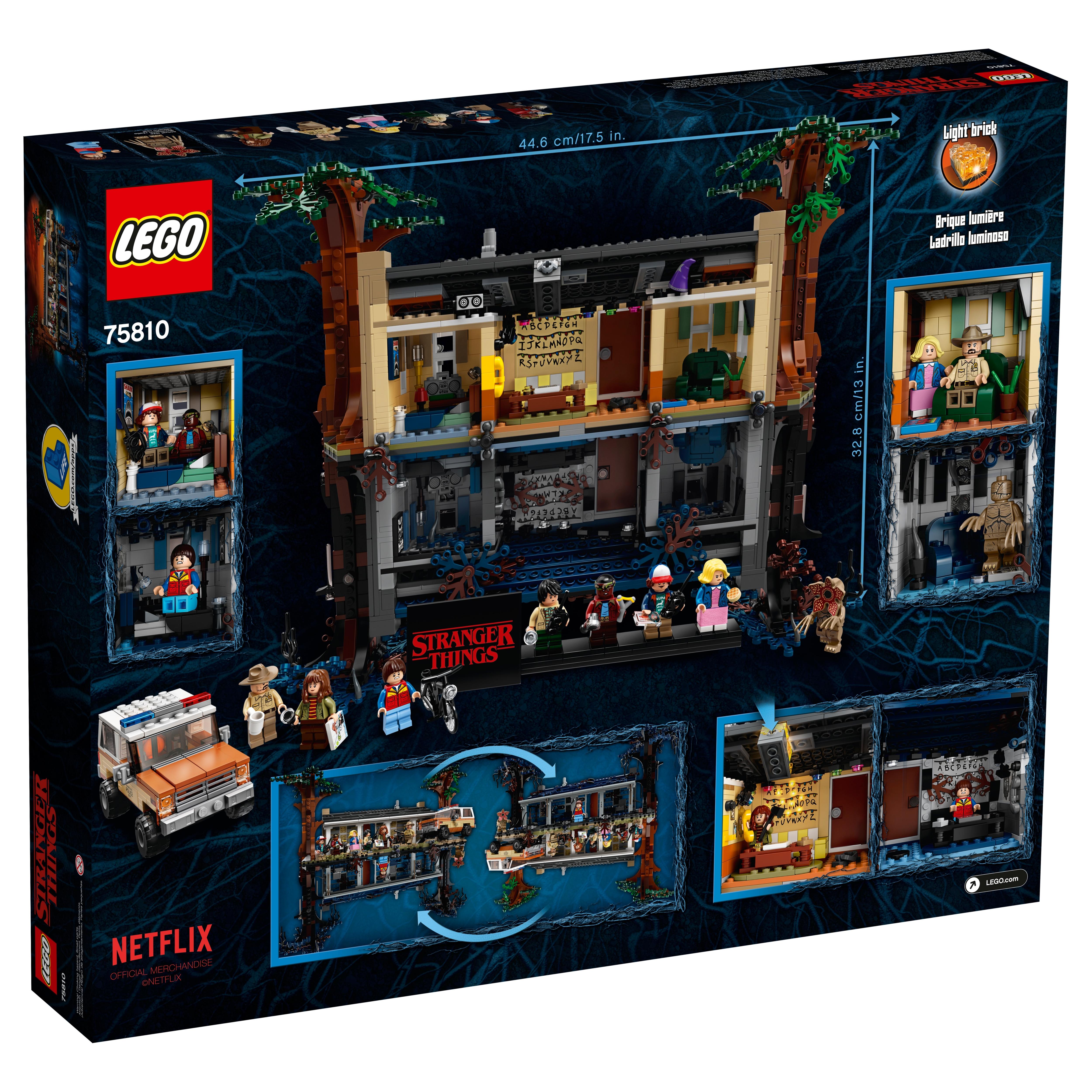 Lego Joyce Byers 75810 The Upside Down Stranger Things Minifigure