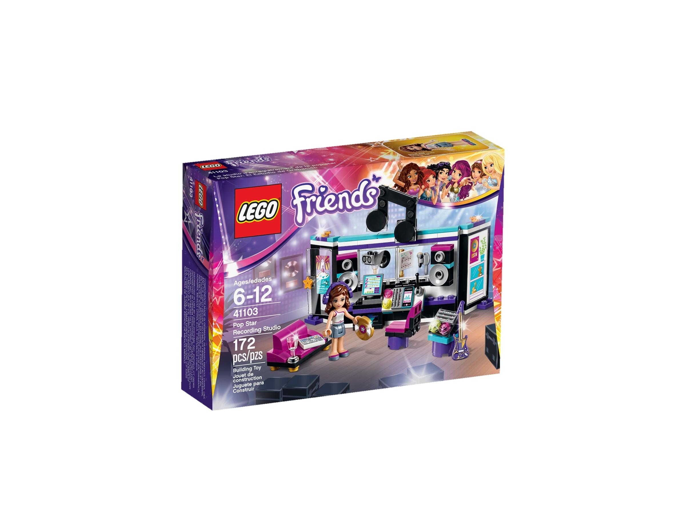LEGO 41103 Friends Pop Star Recording Studio