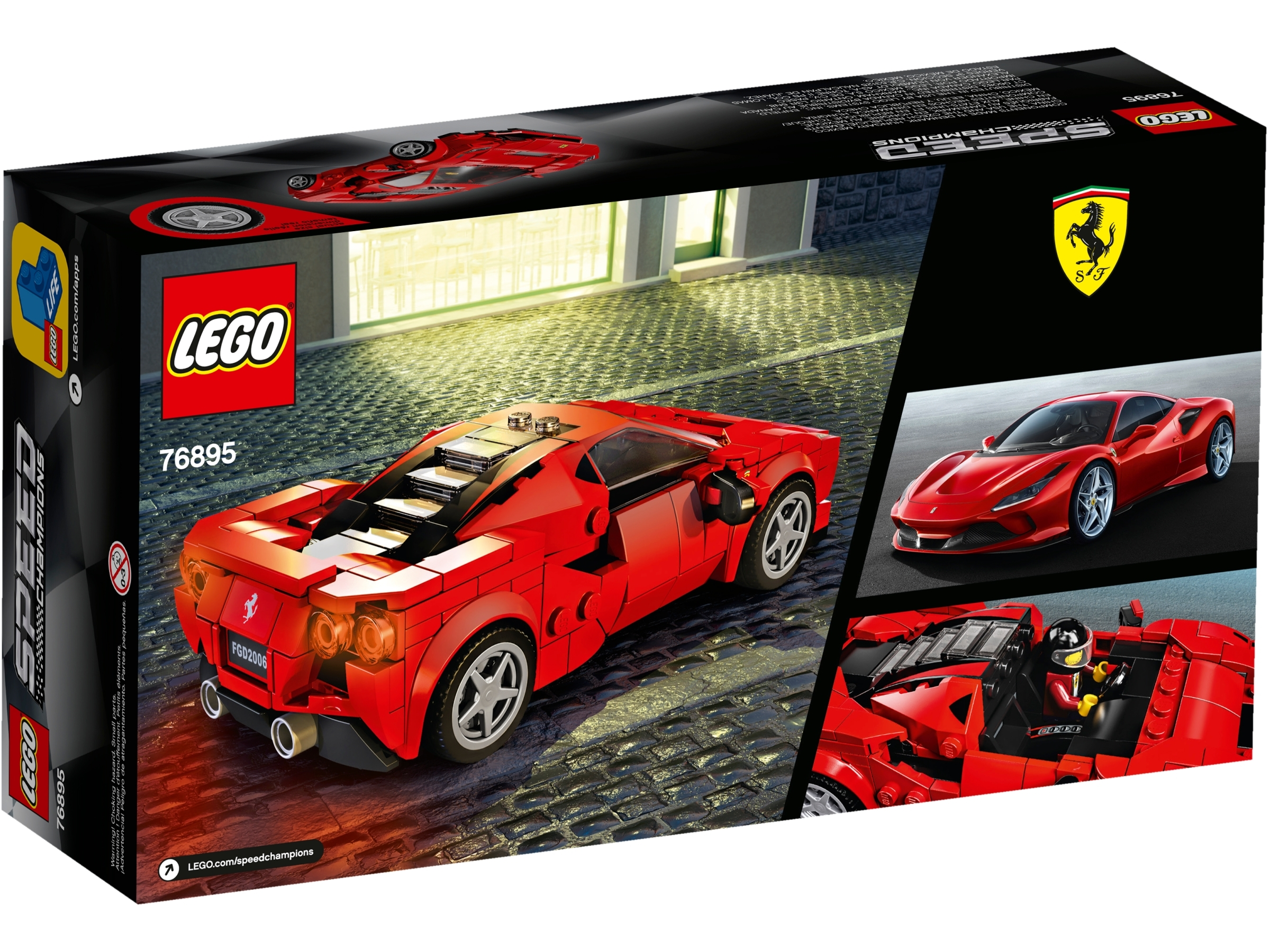LEGO Speed Champions 76895 Ferrari F8 Tributo New 2020 275 Pieces