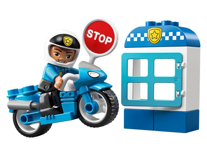 La moto de police