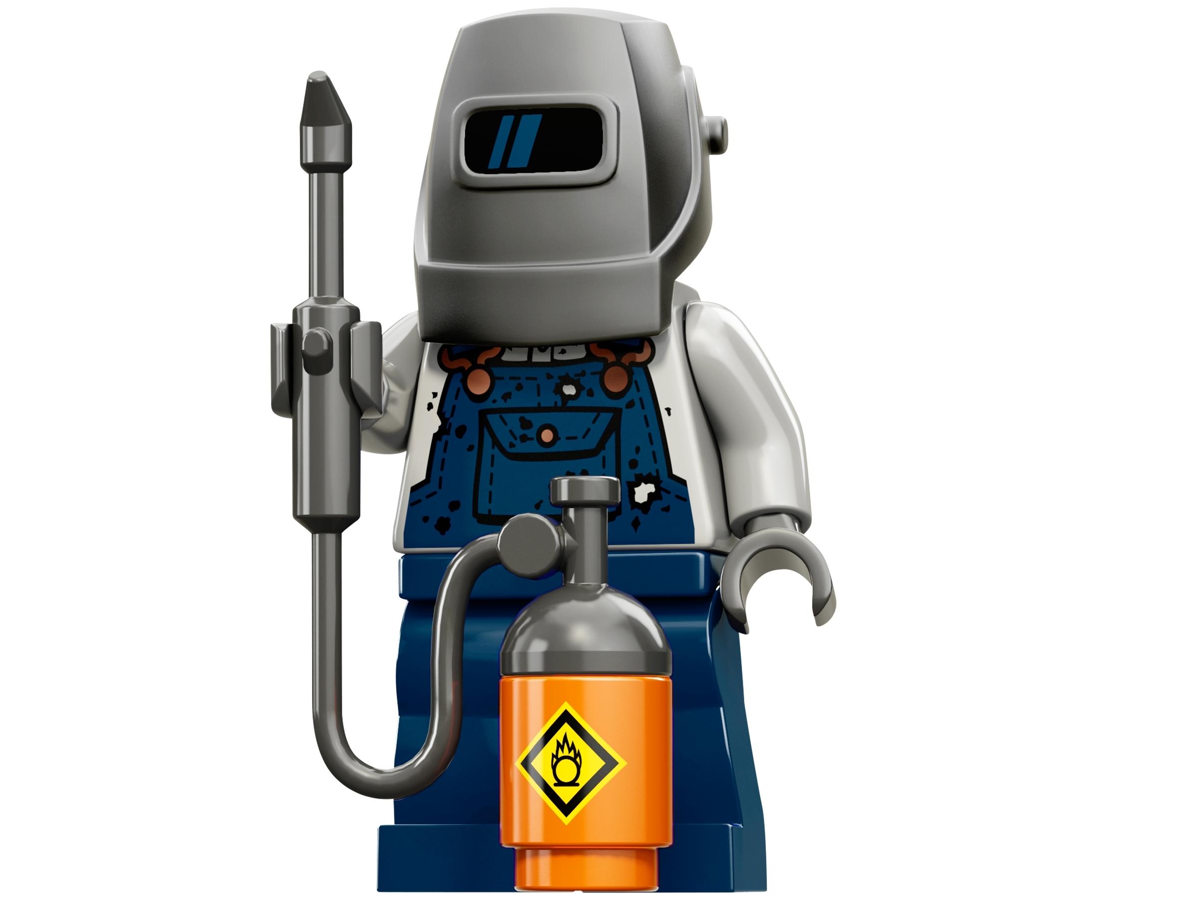 Lego minifigures series 11 minifigure mountain climber 71002 new 100/% original