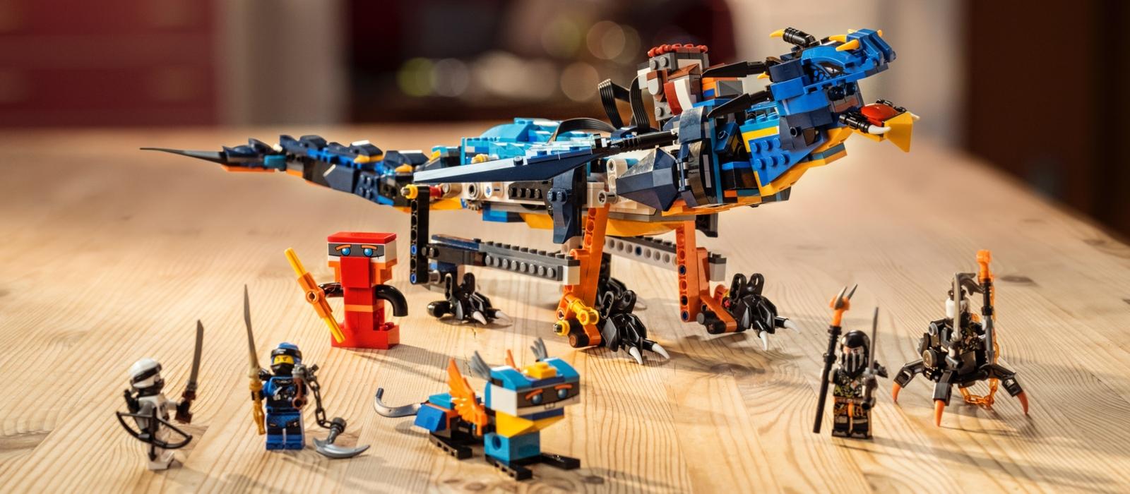 LEGO® BOOST y set NINJAGO® Portador de Tormentas