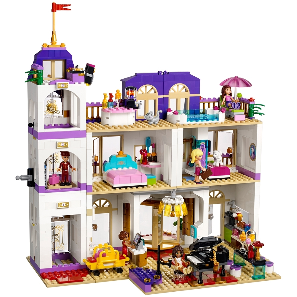 Heartlake Grand Hotel 41101 Friends Buy Online At The Official Lego Shop Pt