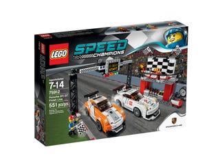 Porsche 911 GT mållinje