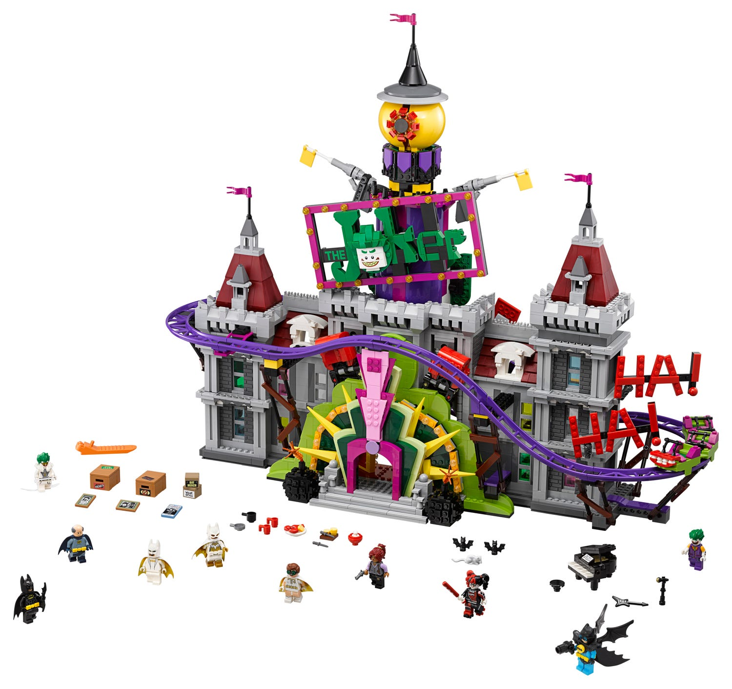 The Joker Manor 70922 Dc Buy Online At The Official Lego Shop Us