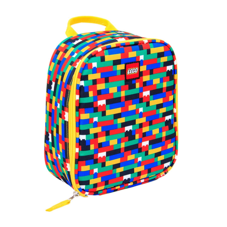 LEGO® Red/Blue Brick Print Lunch Bag