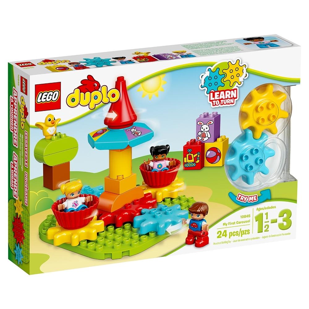 LEGO DUPLO premier numéro Train Jouet Avec Décoré briques éducation précoce 18 mois