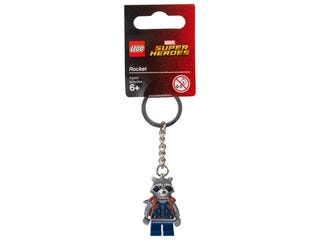 LEGO® Marvel Super Heroes Rocket Keyring