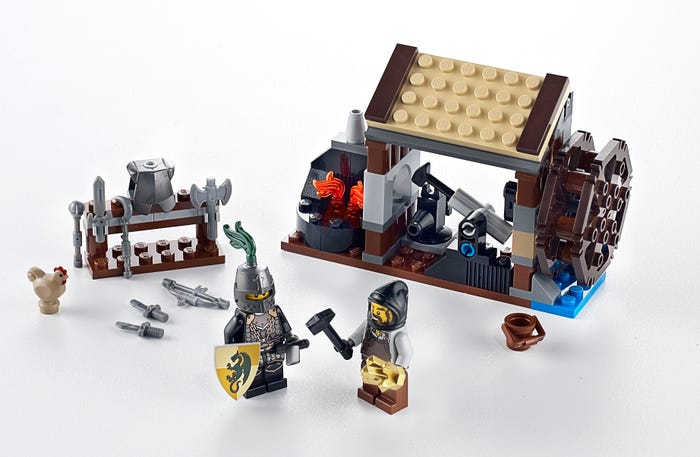 The 'Blacksmith Attack' set from 2011