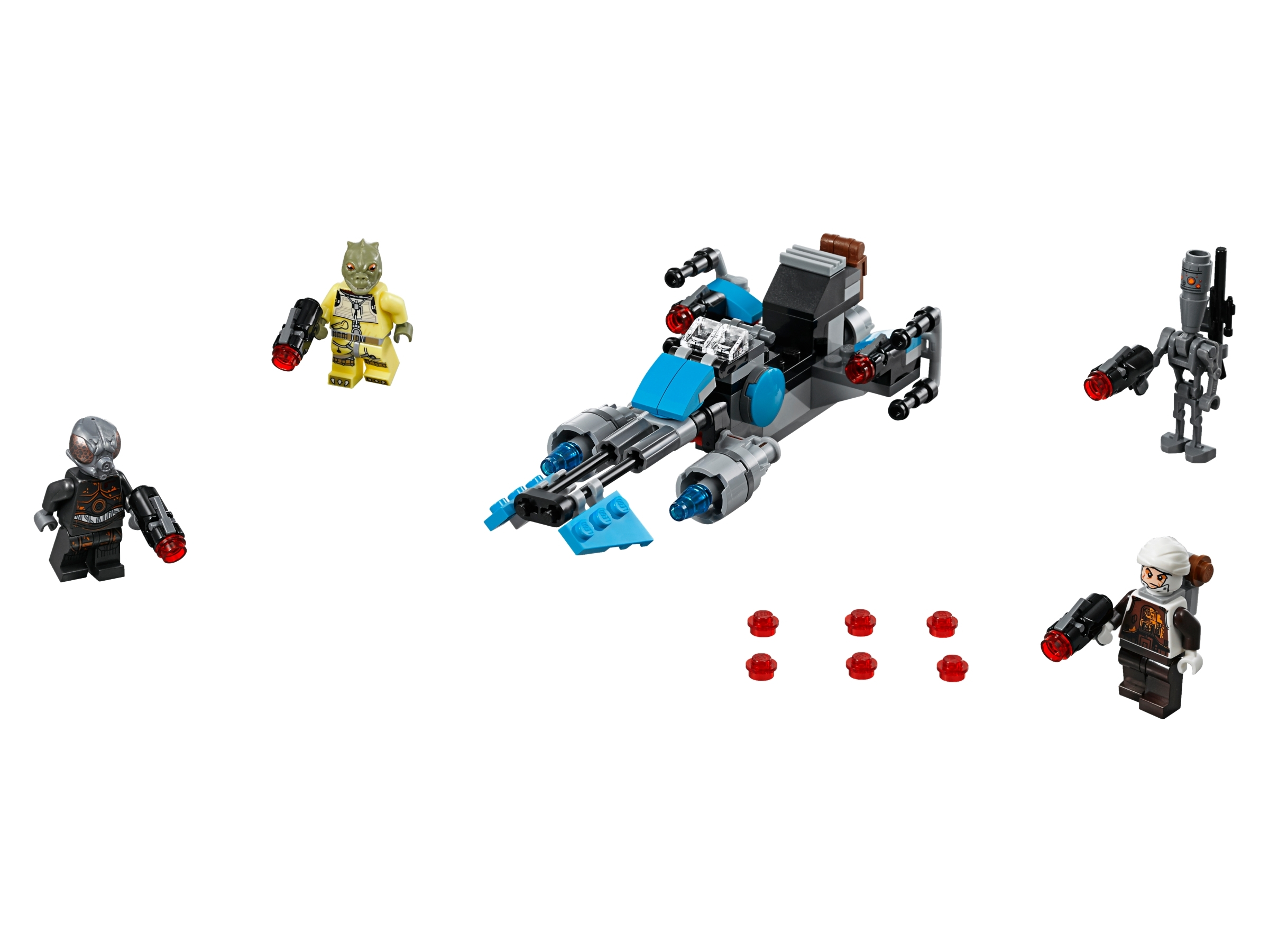 LEGO Star Wars Dengar Authentic Bounty Hunter w// Blaster from 75167 NEW