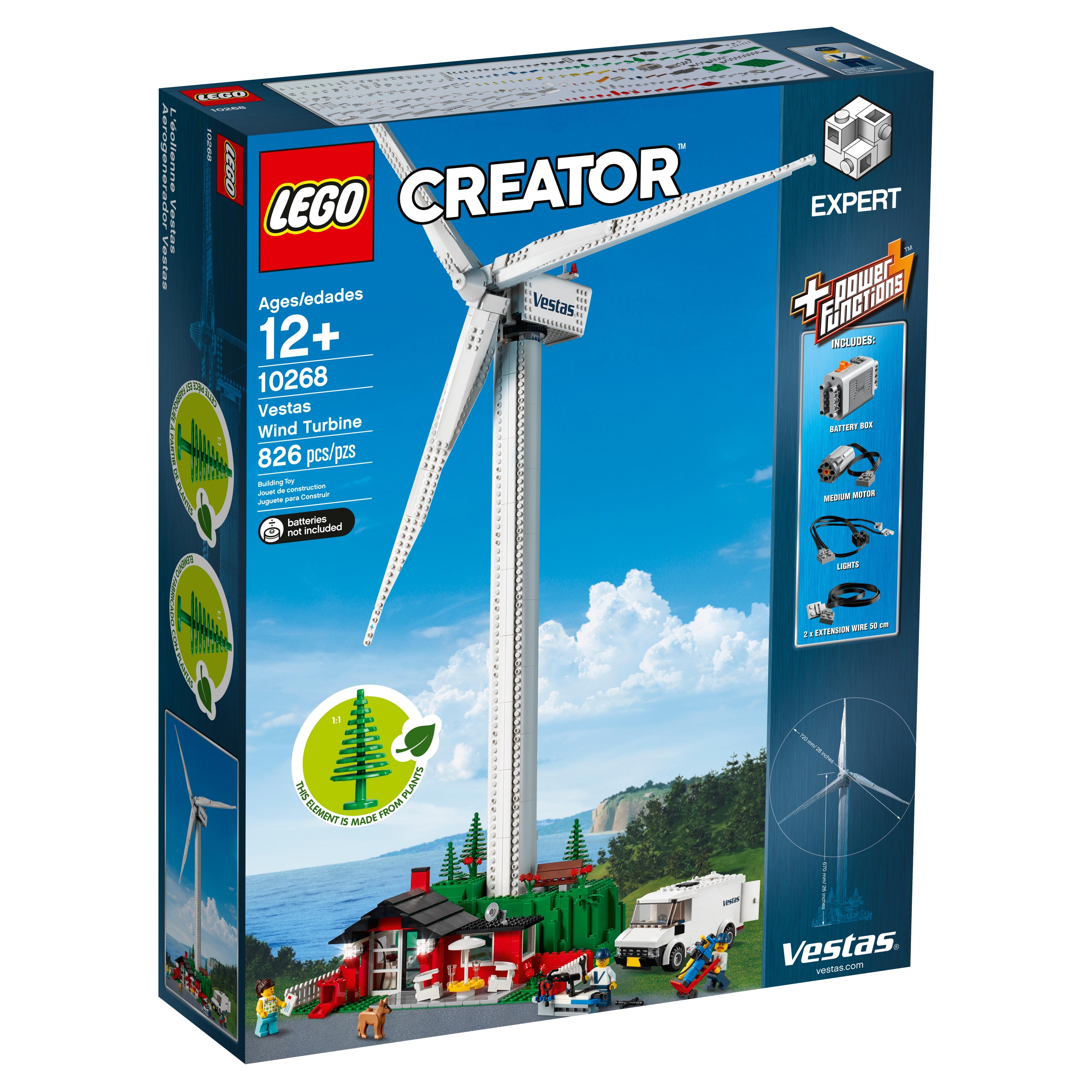 Lego Creator Vestas Wind Turbine 10268
