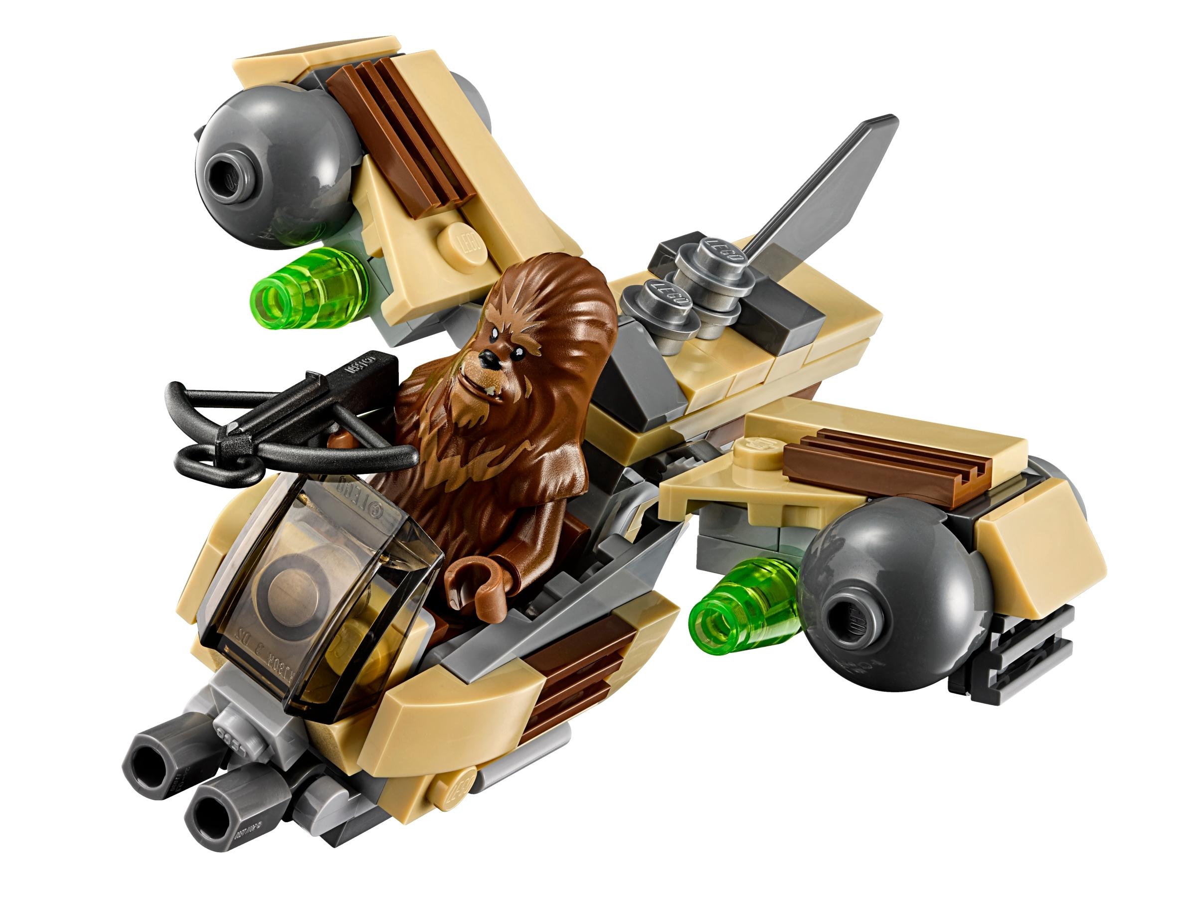 Retired WOOKIE GUNSHIP Lego #75129 STAR WARS 76 Pieces MICROFIGHTERS