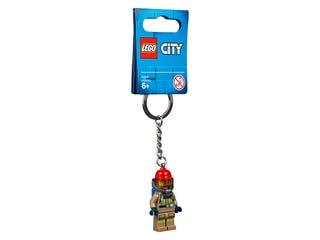 City Firefighter Key Chain