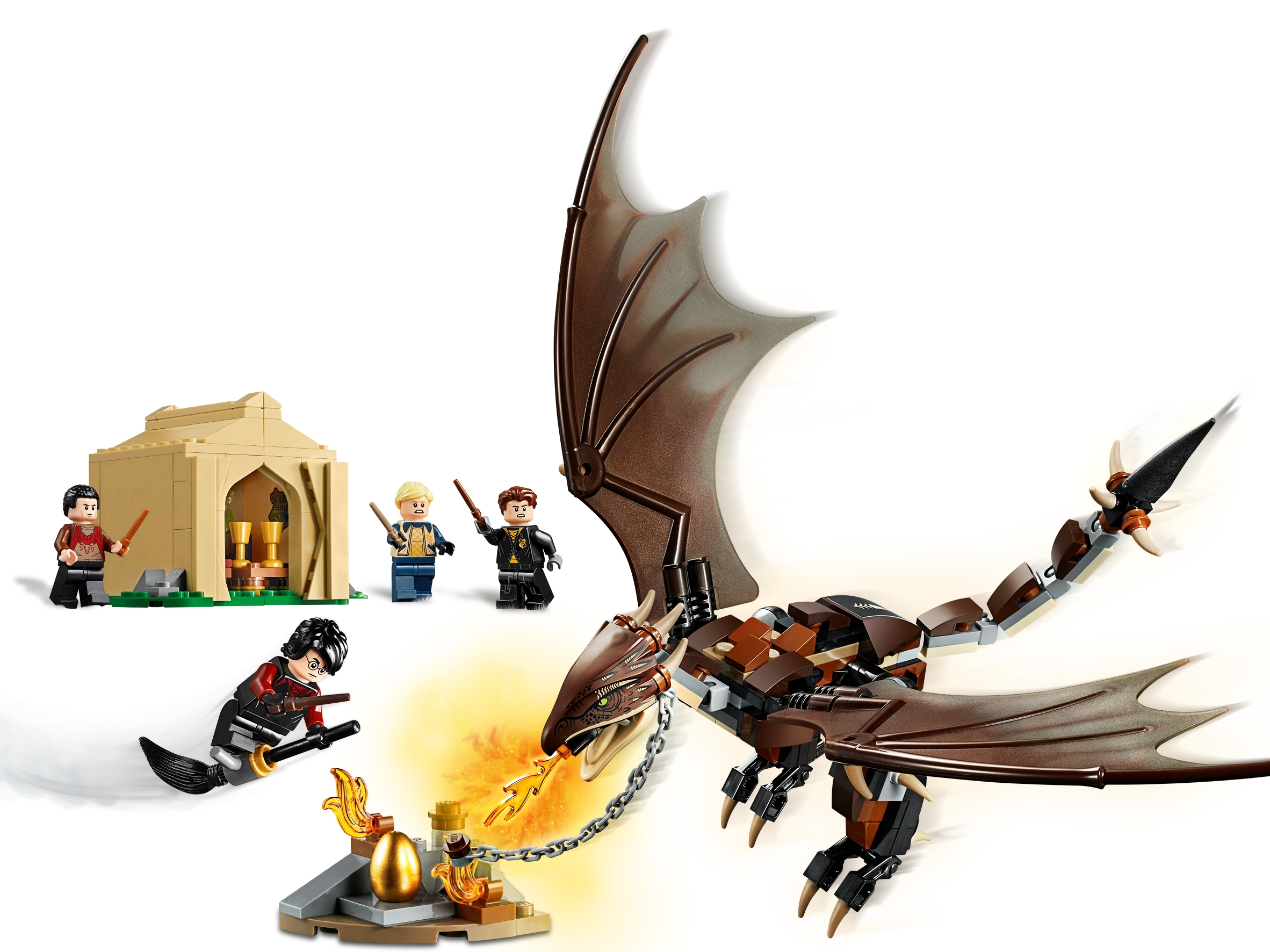 75946 LEGO Harry Potter Hungarian Horntail Triwizard Challenge Set BRAND NEW.
