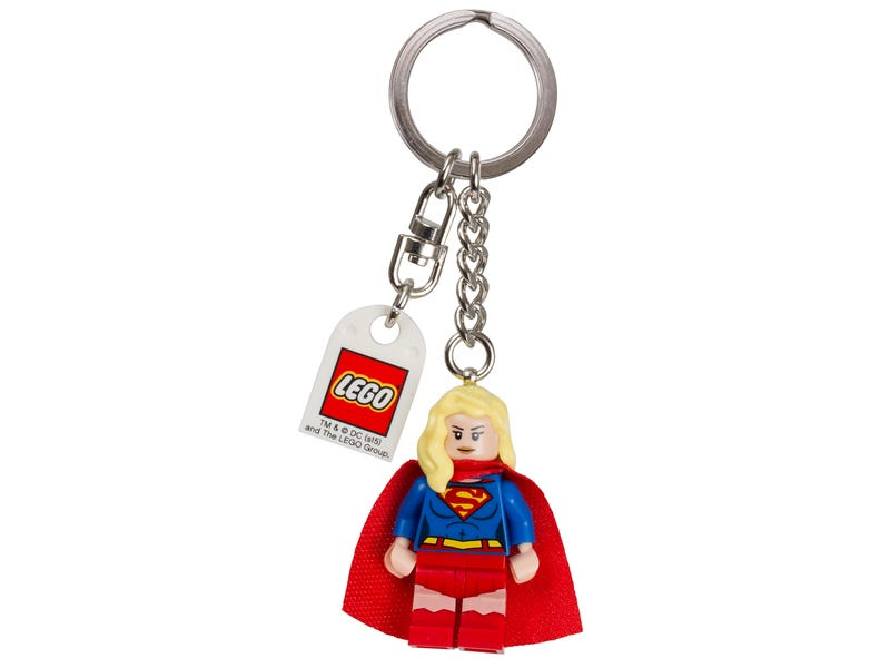 "LEGO® DC Comics"" Super Heroes Supergirl Keychain"