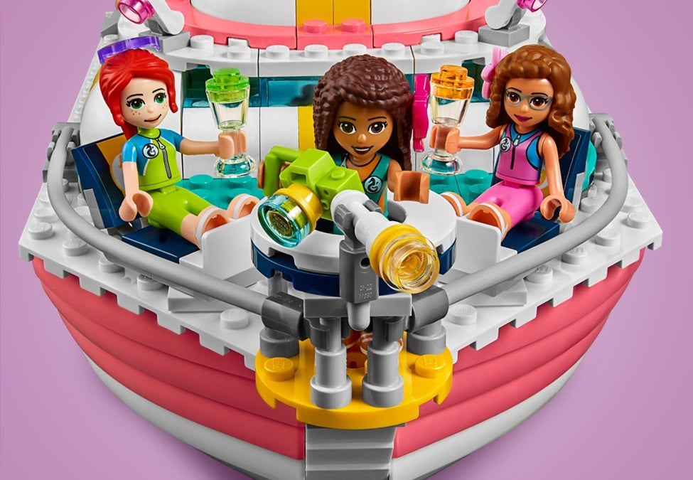 Lego Friends 41381 Rescue Mission Boat instruction manual BOOKS ONLY New
