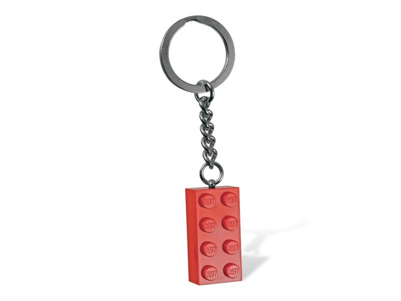 LEGO® Red Brick Keyring