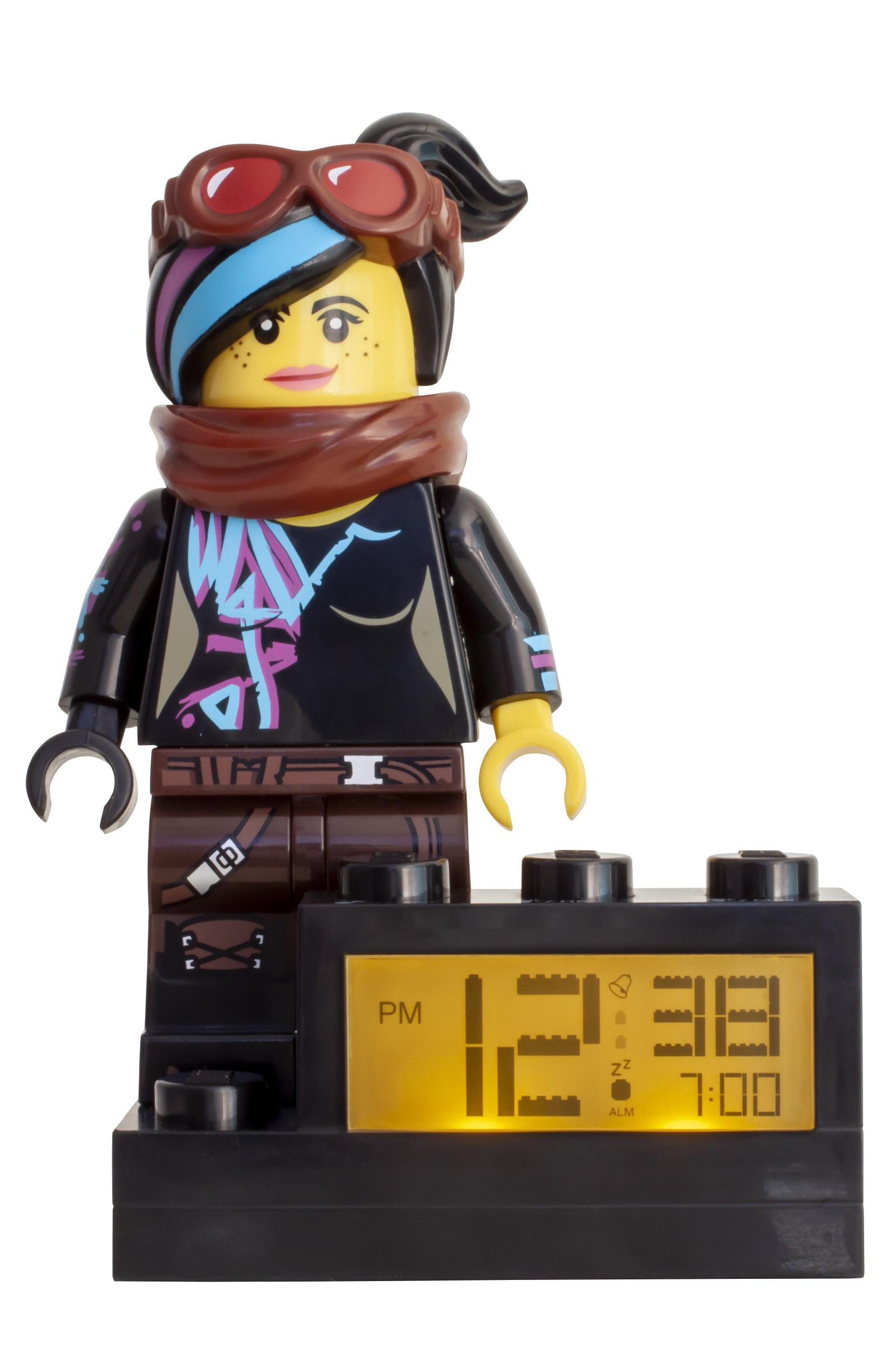 The Lego Movie 2 Wyldstyle Alarm Clock 5005699 The Lego Movie 2 Buy Online At The Official Lego Shop Lu