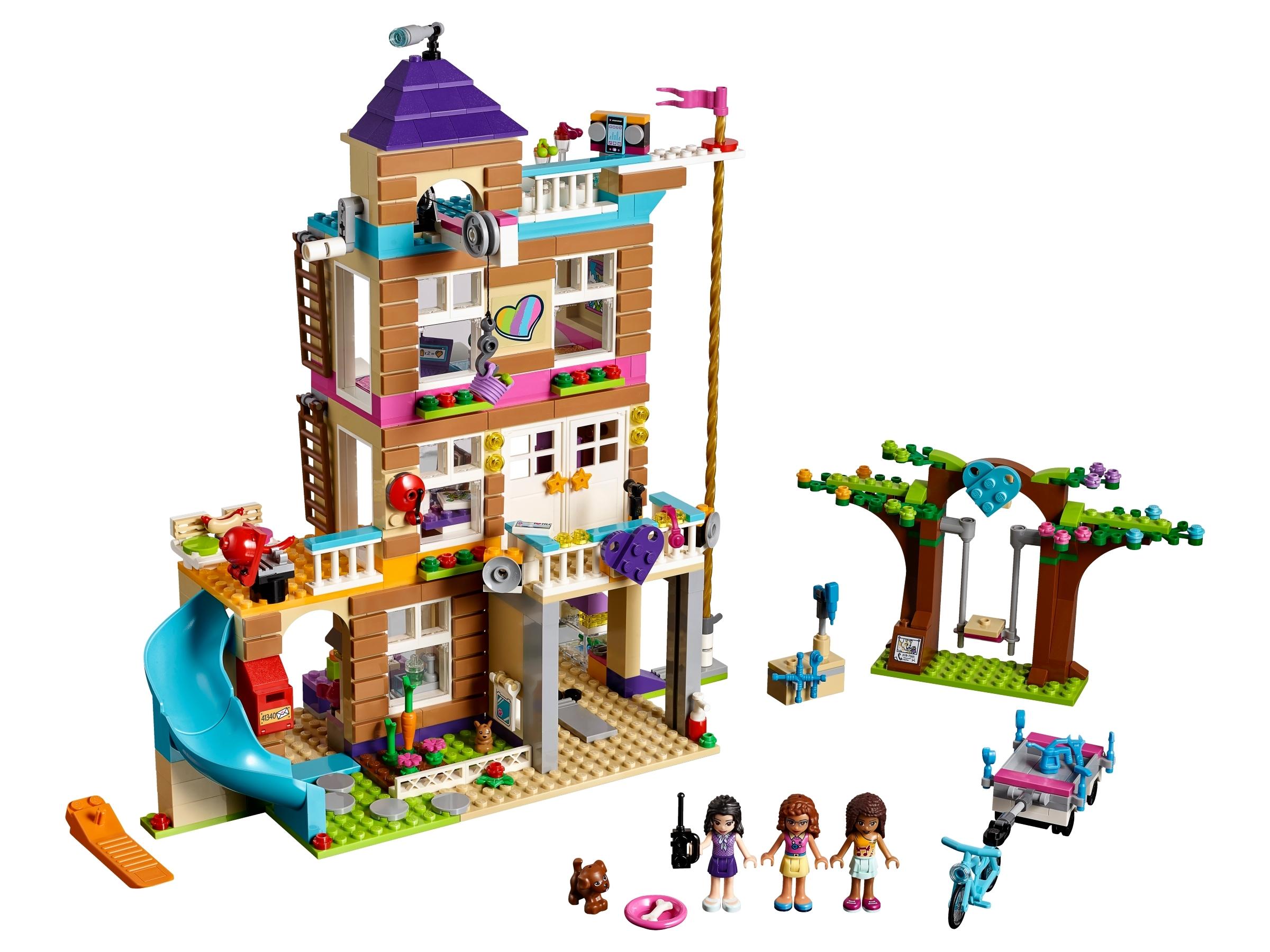Popular LEGO Friends Friendship House 41340 Kids Building Set with Mini-Dolls