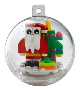 Christmas Ornament Santa