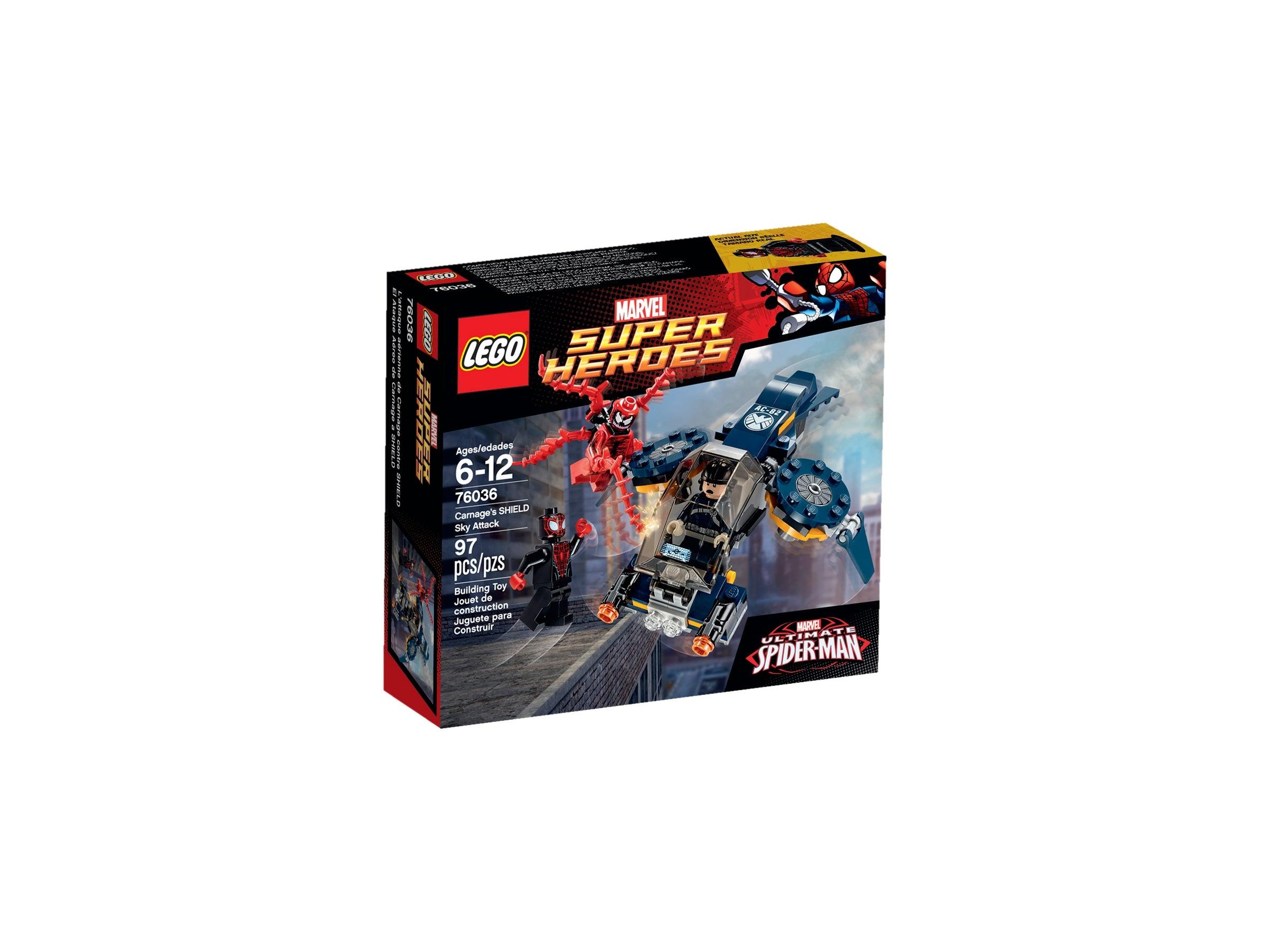 Marvel DC lego mini figure CARNAGE 76036