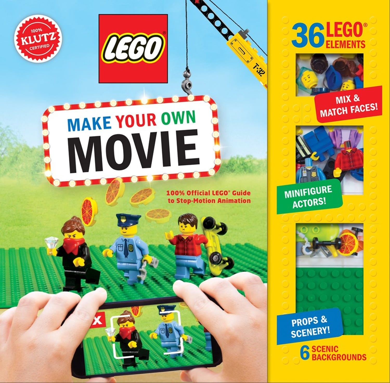 LEGO® Make Your Own Movie: 100% Official LEGO Guide to Stop-Motion Animation
