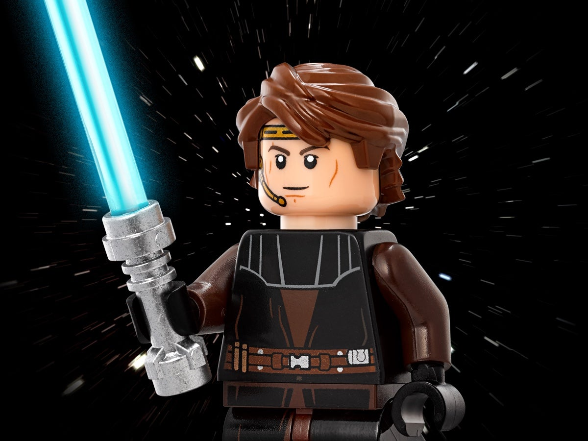 TYPE MINI FIGURINE LEGO STAR WARS LUC  JEDI