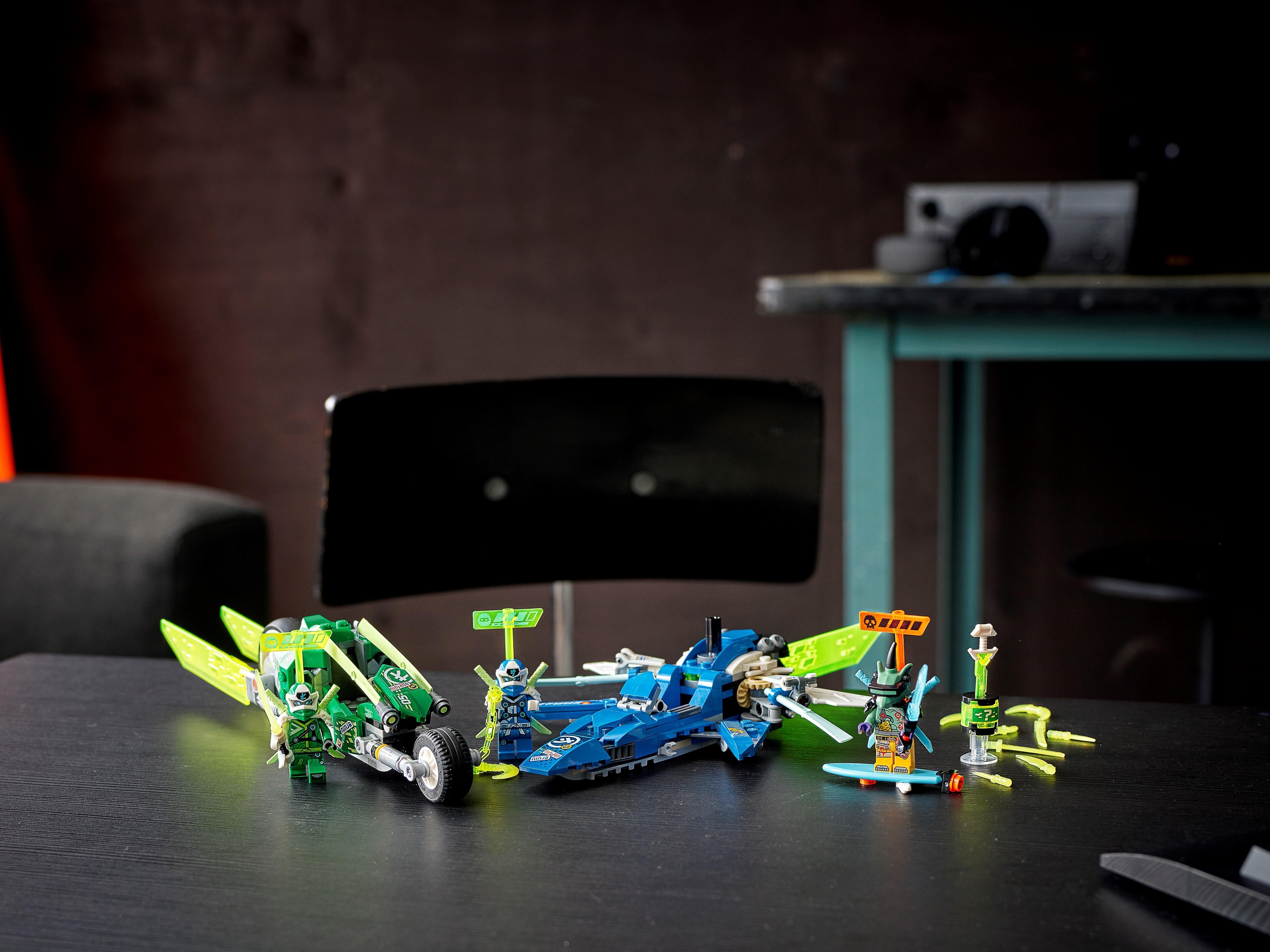 LEGO foglio adesivo da Set 71709 PRIMO IMPERO Ninjago velocità RACERS NUOVO