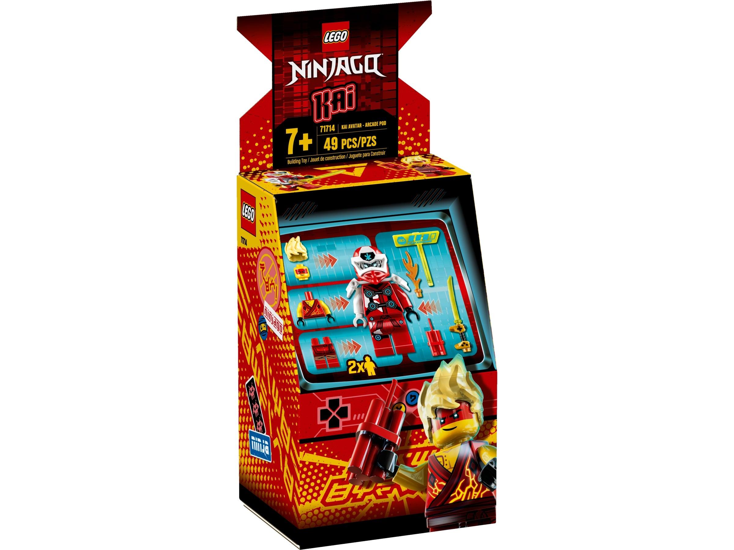 Lego Video Arcade Game Marvel 9 Pieces