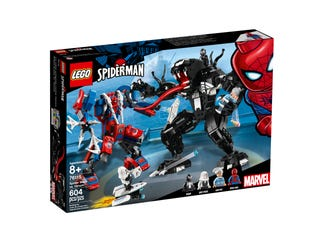 Spider Mecha vs. Venom