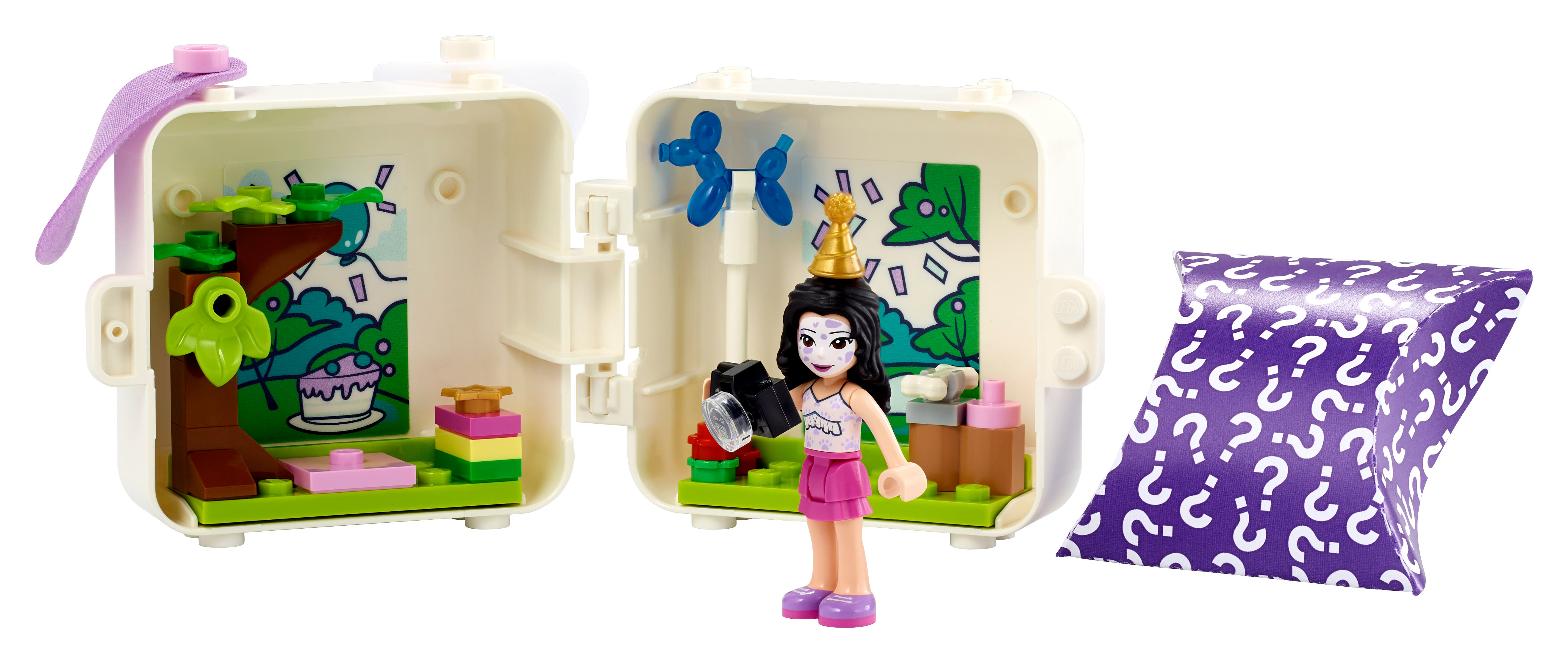 New 2021 41 Pieces LEGO Friends Emma/'s Dalmatian Cube 41663 Building Kit; Puppy Toy Creative Gift for Kids Comes with an Emma Mini-Doll Toy