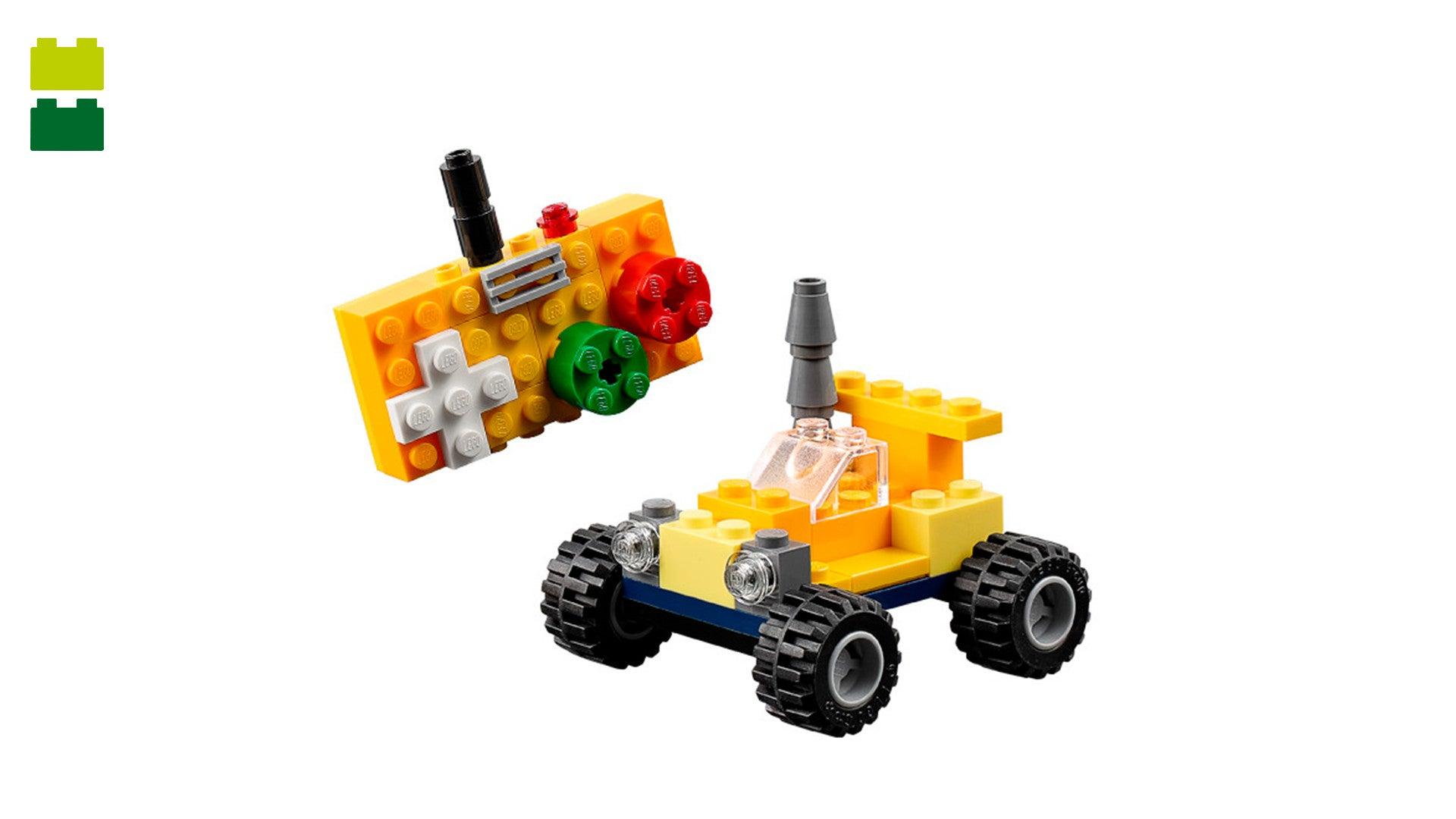 Lego 10696 Classic Medium Creative Brick Box Building Instruction Manual Book