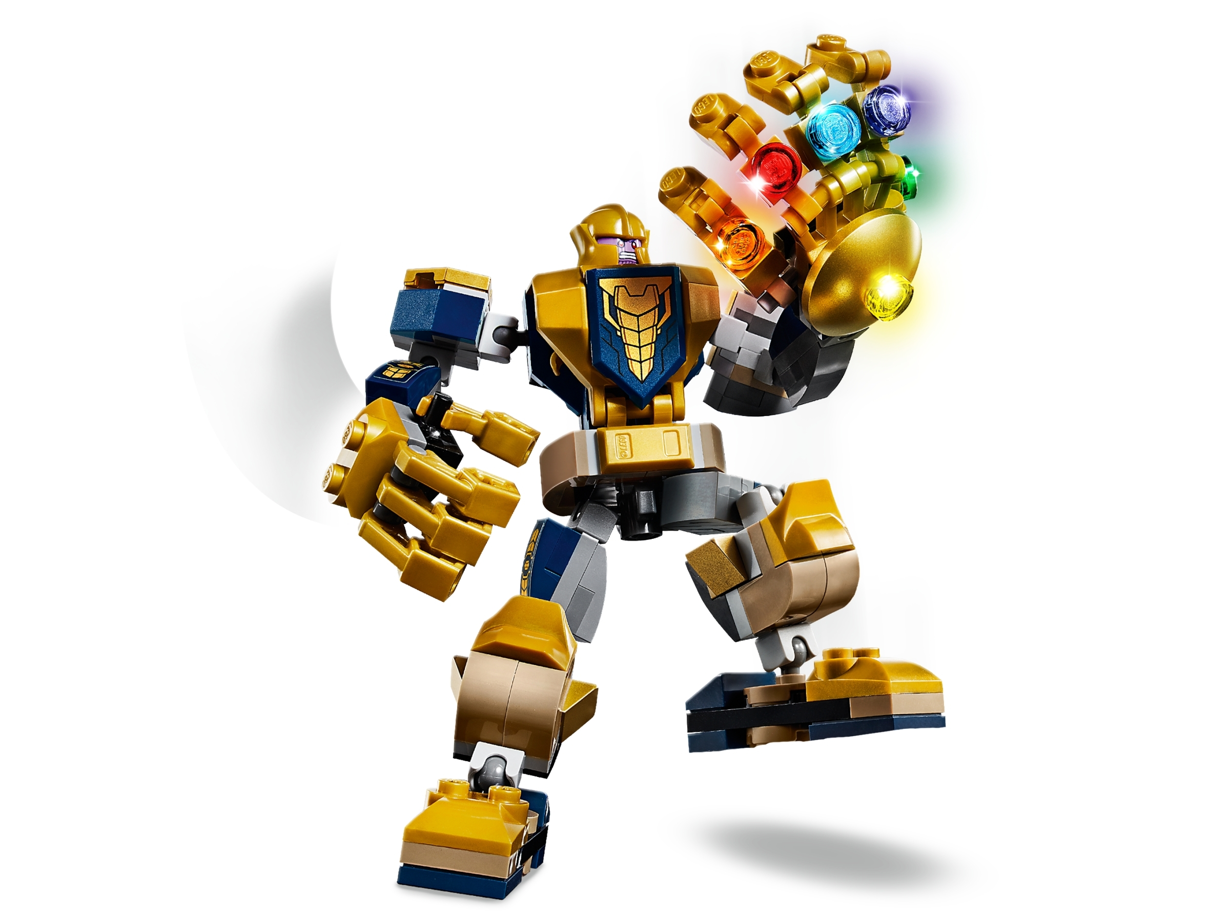 LEGO Marvel Avengers Thanos Mech 76141 Cool Action Building Toy for Kids