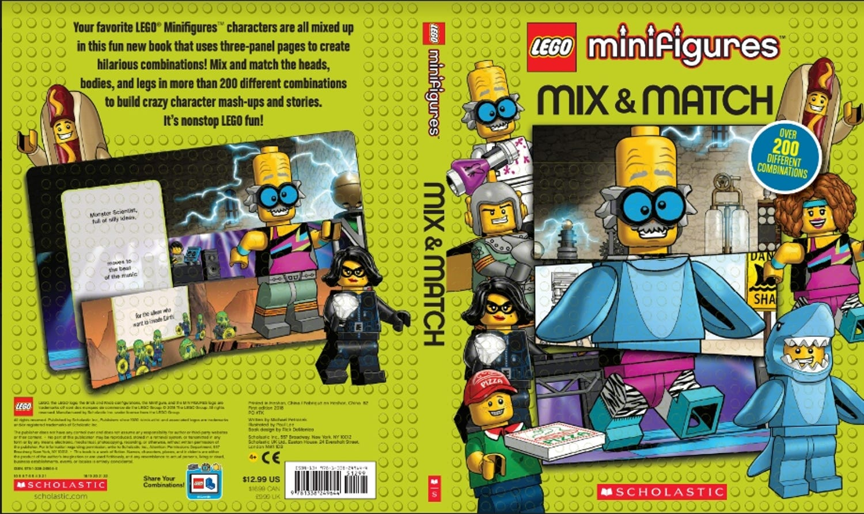 LEGO® Minifigures: Mix & Match