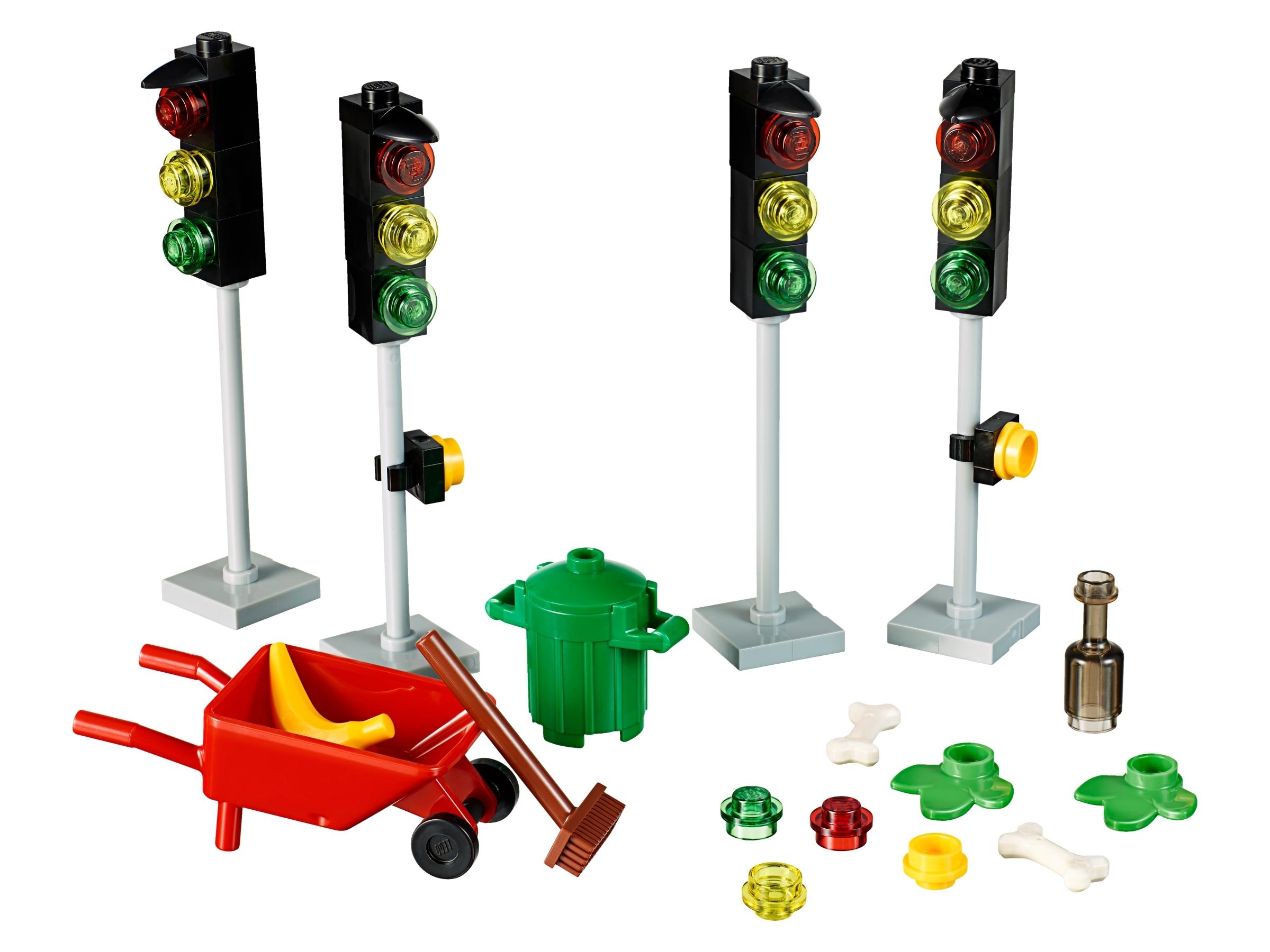 New LEGO Red Friends City Wheelbarrow Minifigure Accessory