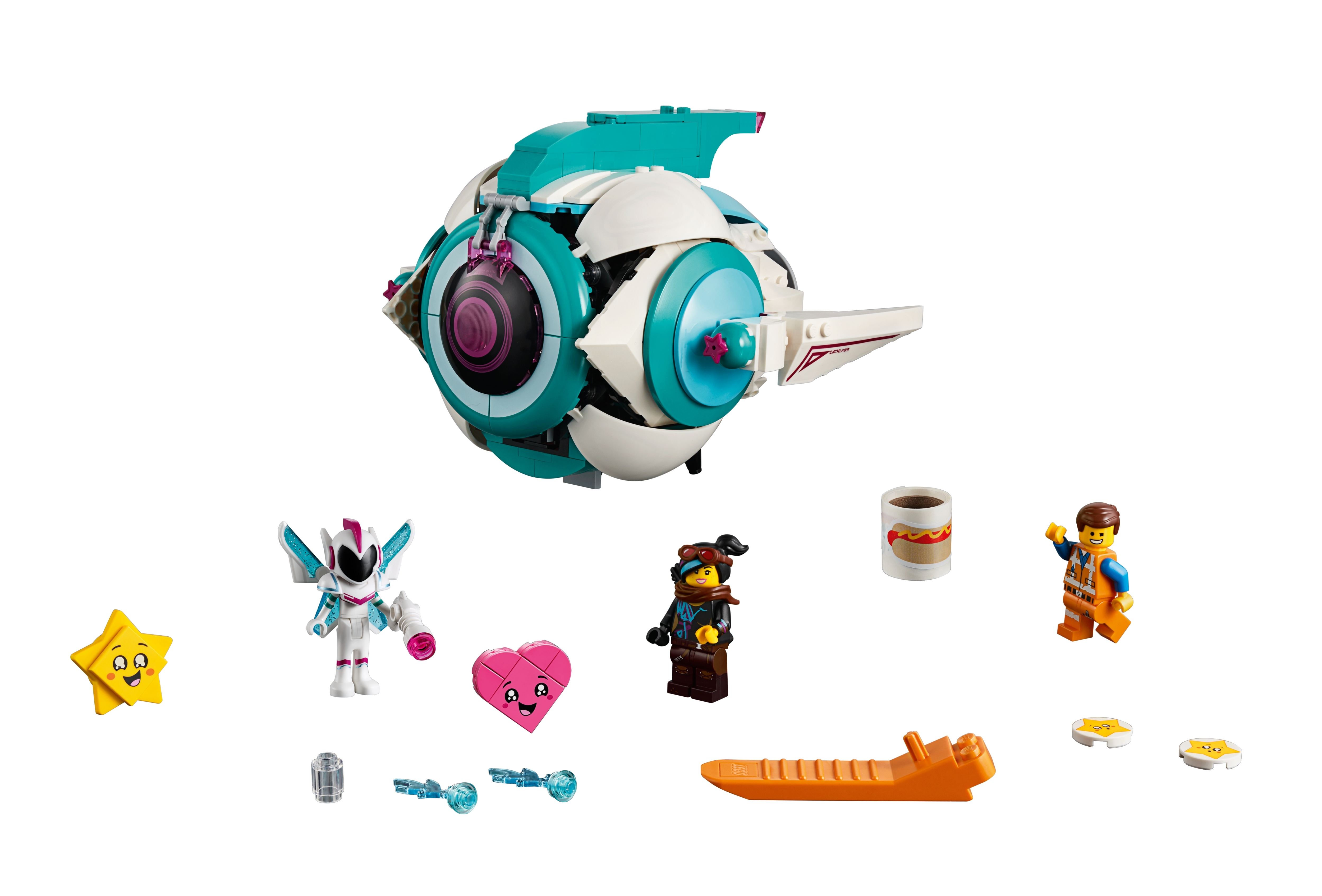 Sweet Mayhem S Systar Starship 70830 The Lego Movie 2 Buy Online At The Official Lego Shop Us