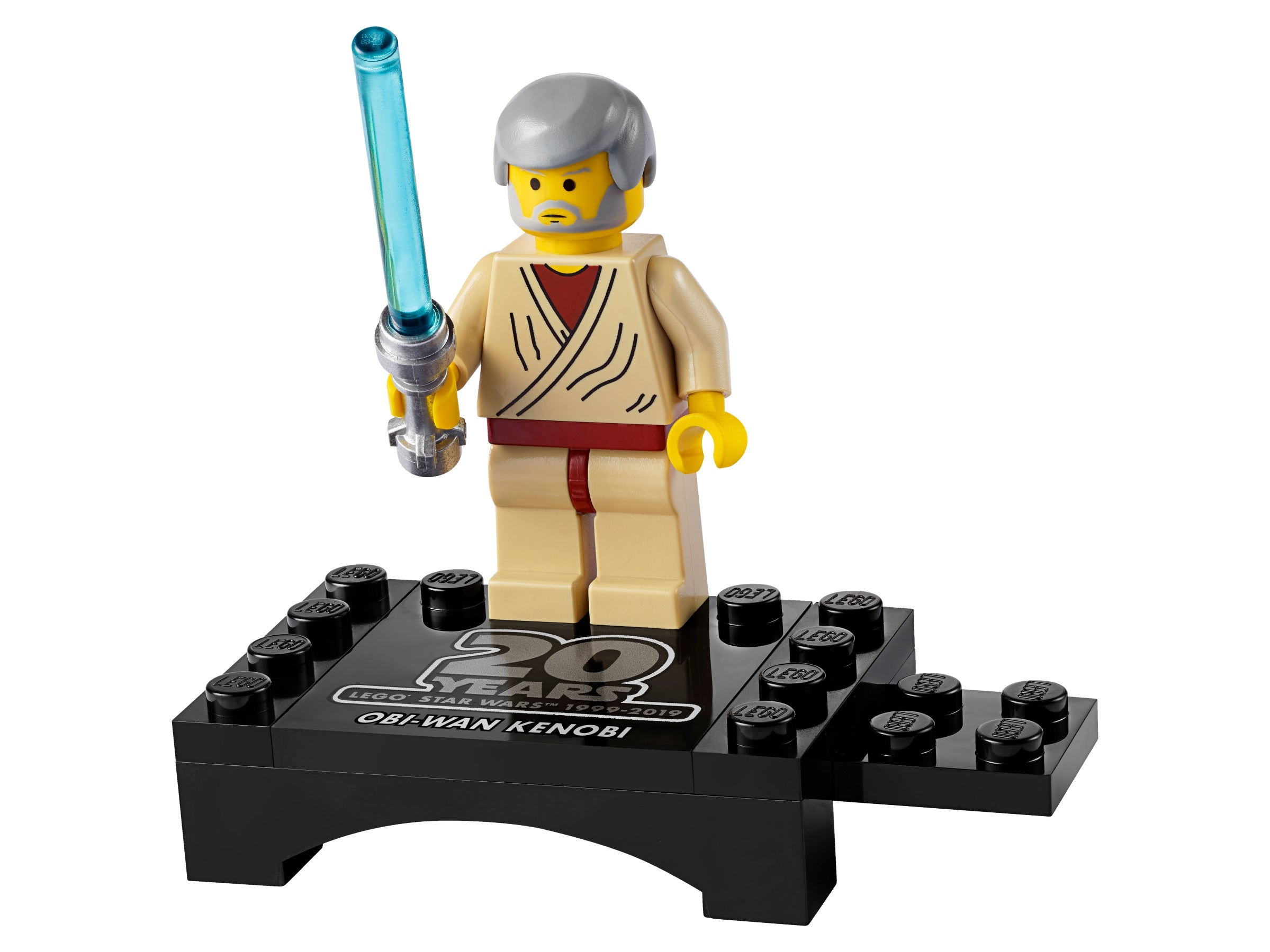 BEN KENOBI LEGO STAR WARS #75052 OLD Mini Figure NEW! #2 W//SABER