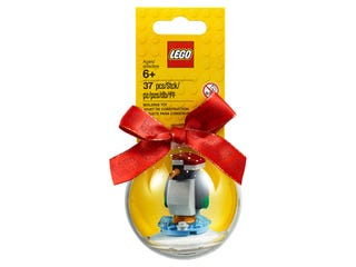 Penguin Holiday Ornament