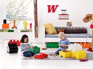 LEGO® 2-stud Blue Storage Brick