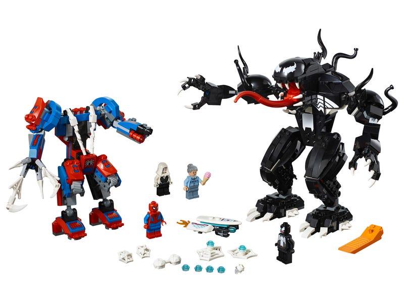 Spider Mech vs. Venom