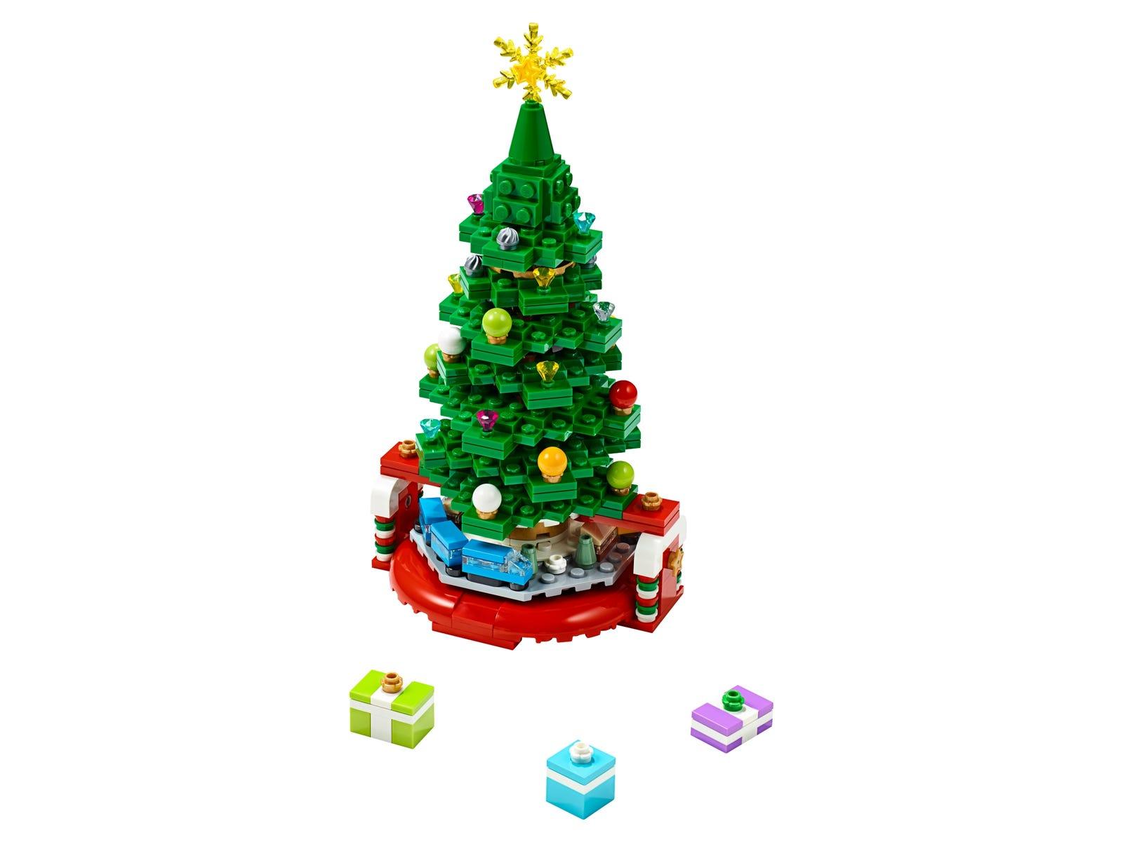 Albero Di Natale Lego.Albero Di Natale 40338 Unknown Lego Shop Ufficiale It