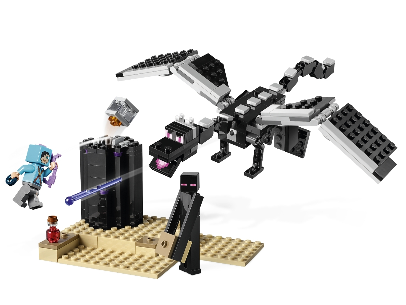 The End Battle 21151 Minecraft Buy Online At The Official Lego Shop Au