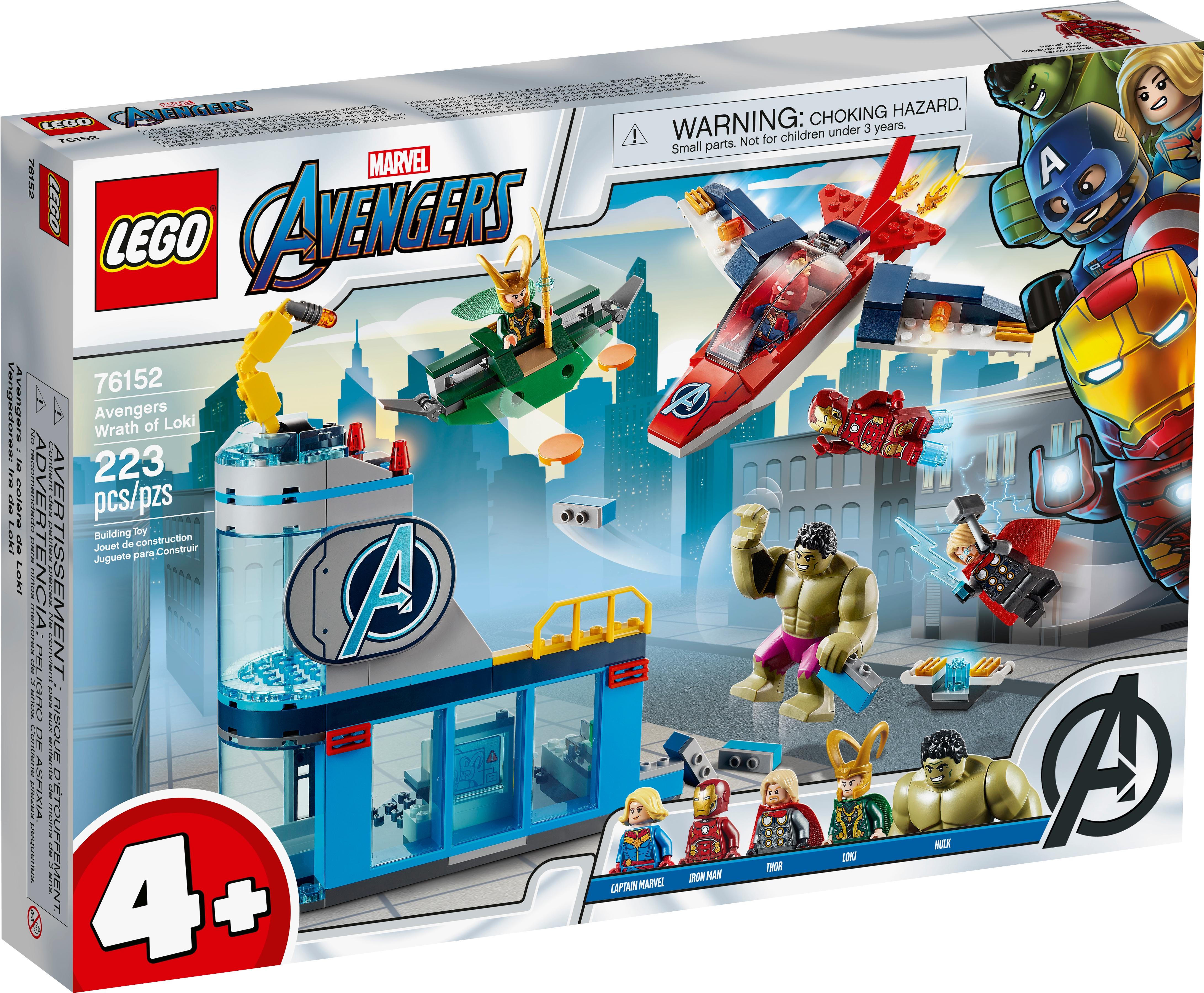 New LEGO Marvel 76152 Avengers Wrath of