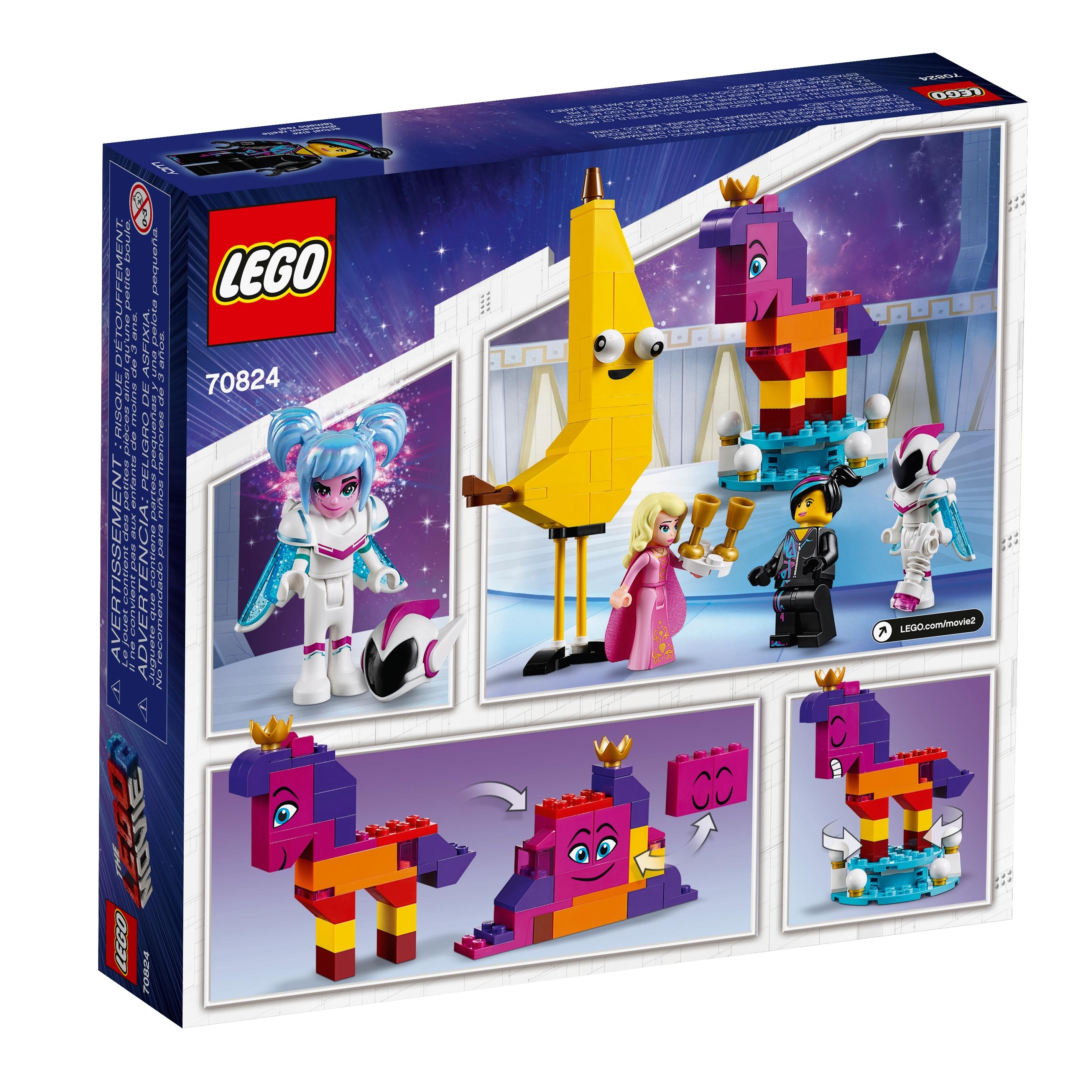 NEW LEGO Movie 2 Minifigure Queen Watevra Wa/'Nabi character 70824 minifig parts
