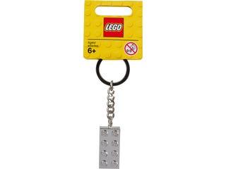 LEGO® Iconic Metalised 2x4 Keyring